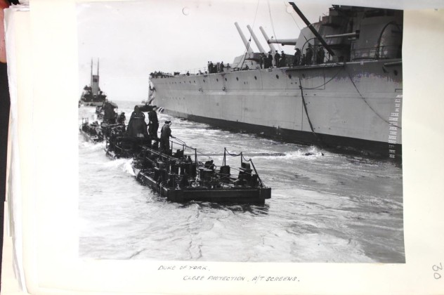 ATCPP being towed into position. National Archive