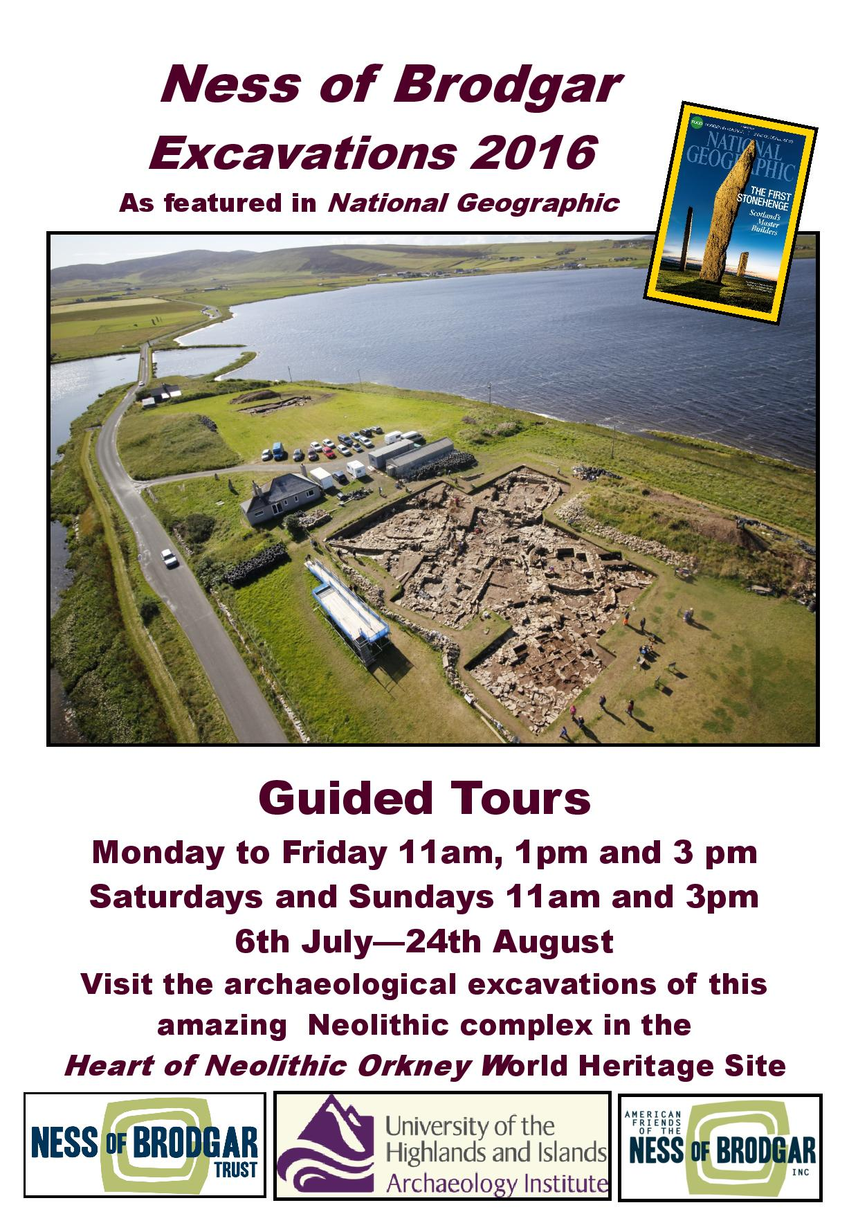 Tours Of Ness Of Brodgar