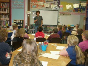 Workshop with primary school pupils