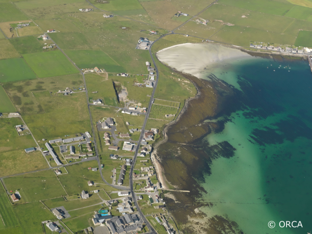 Sands of Gill and Pierowall Westray