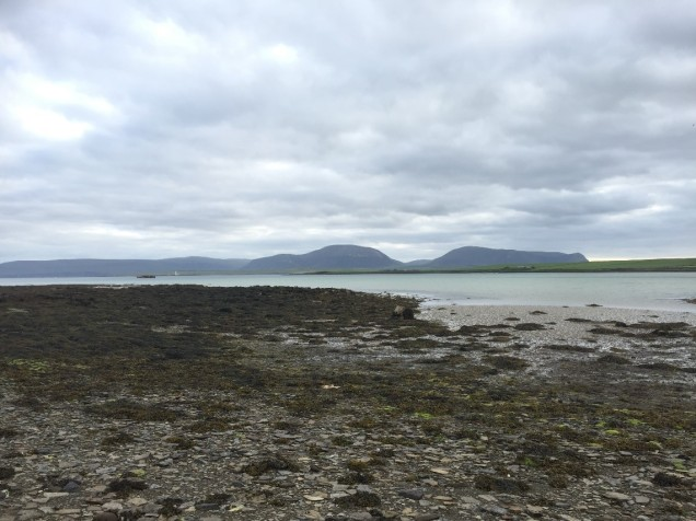 Bay of Ireland Stenness looking out towards the island of Hoy