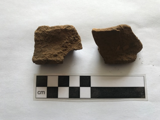 Fragments of the 'incense' cup - only 4 others of this style are known - all from the Stonehenge-Wessex region