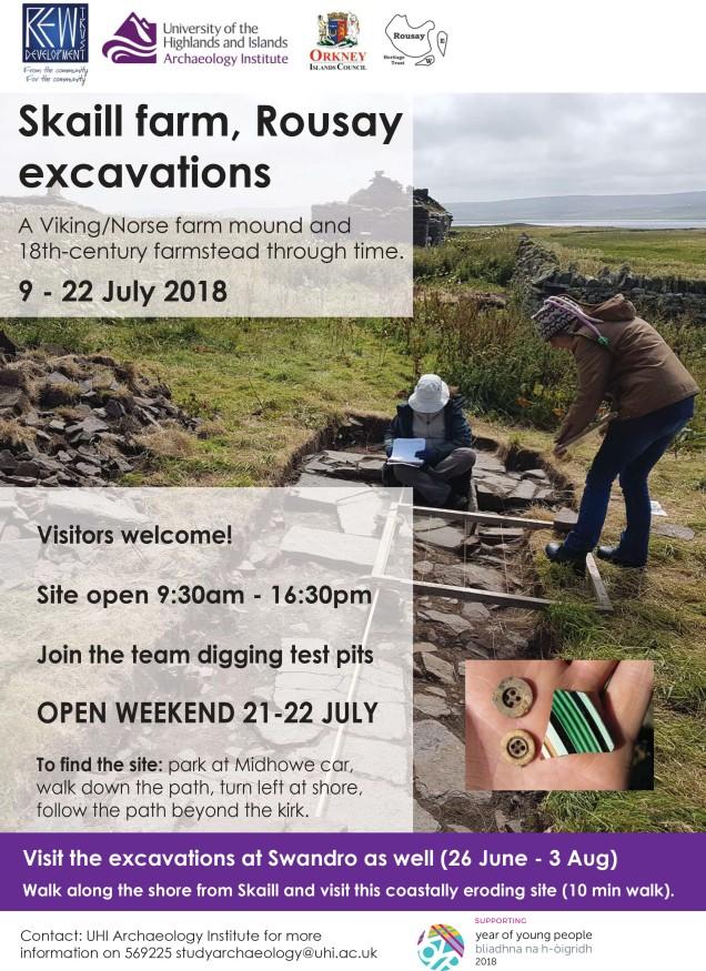 Skaill excavation poster 2018 V1 140618.ai