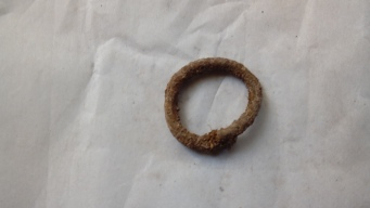 Bronze ring from Area Q-M